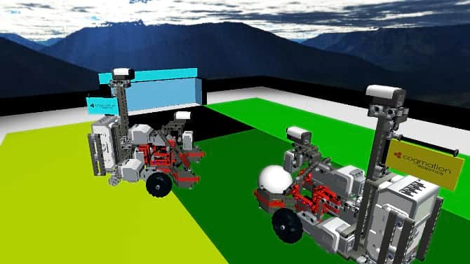 Simulate First Lego League Wro Virtual Robotics Toolkit