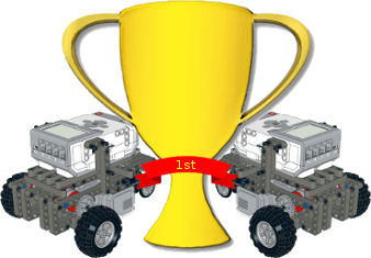 Robotics competition trophy