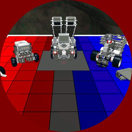 Multiple virtual robots